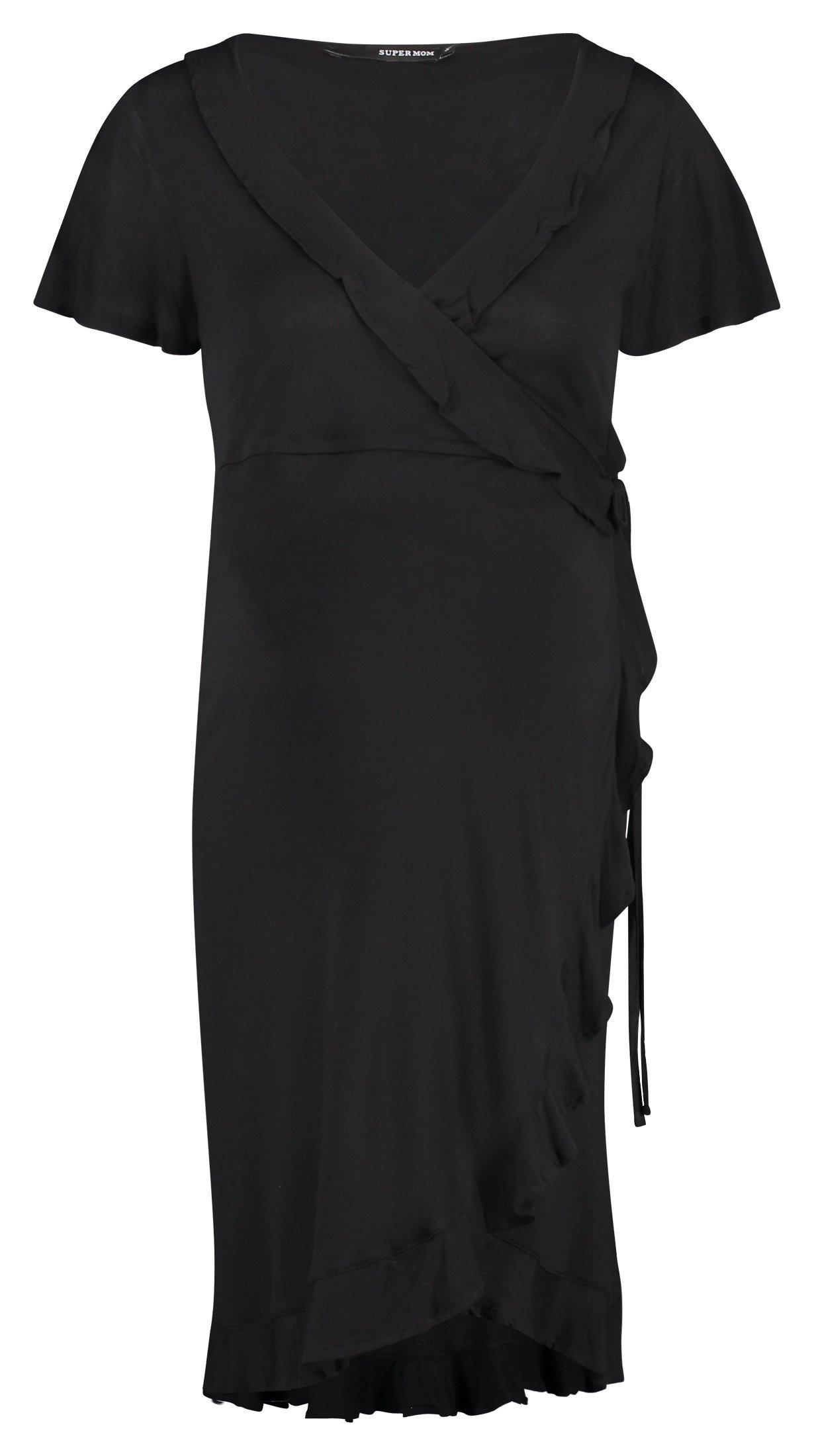 Op zoek naar een Supermom Jurk »Wrap Black Nurs«? Koop online bij OTTO