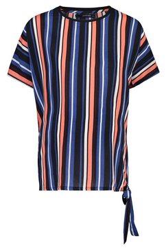 supermom t-shirt »blue stripe« multicolor