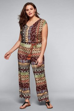 sheego jumpsuit multicolor