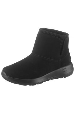 skechers boots zonder sluiting »on the go joy« zwart