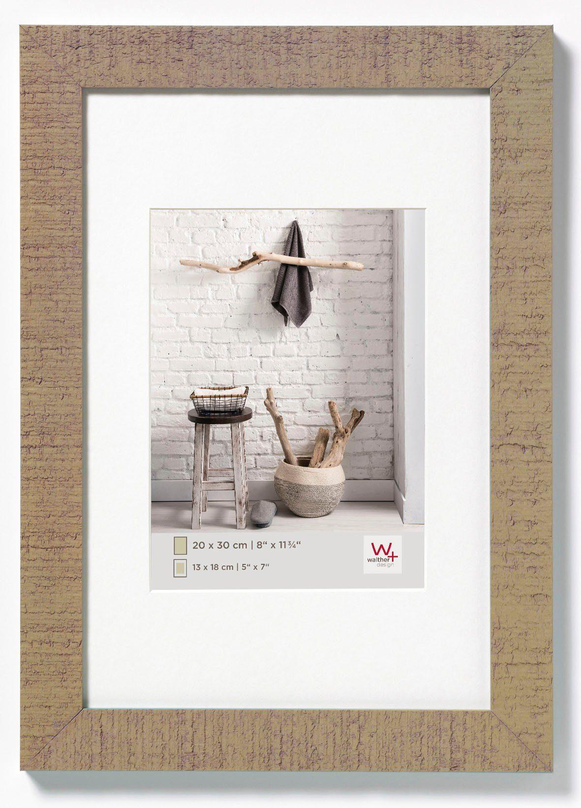 Walther Home Fotolijst Fotoformaat 21X29,7 cm (A4) Beige Bruin online kopen
