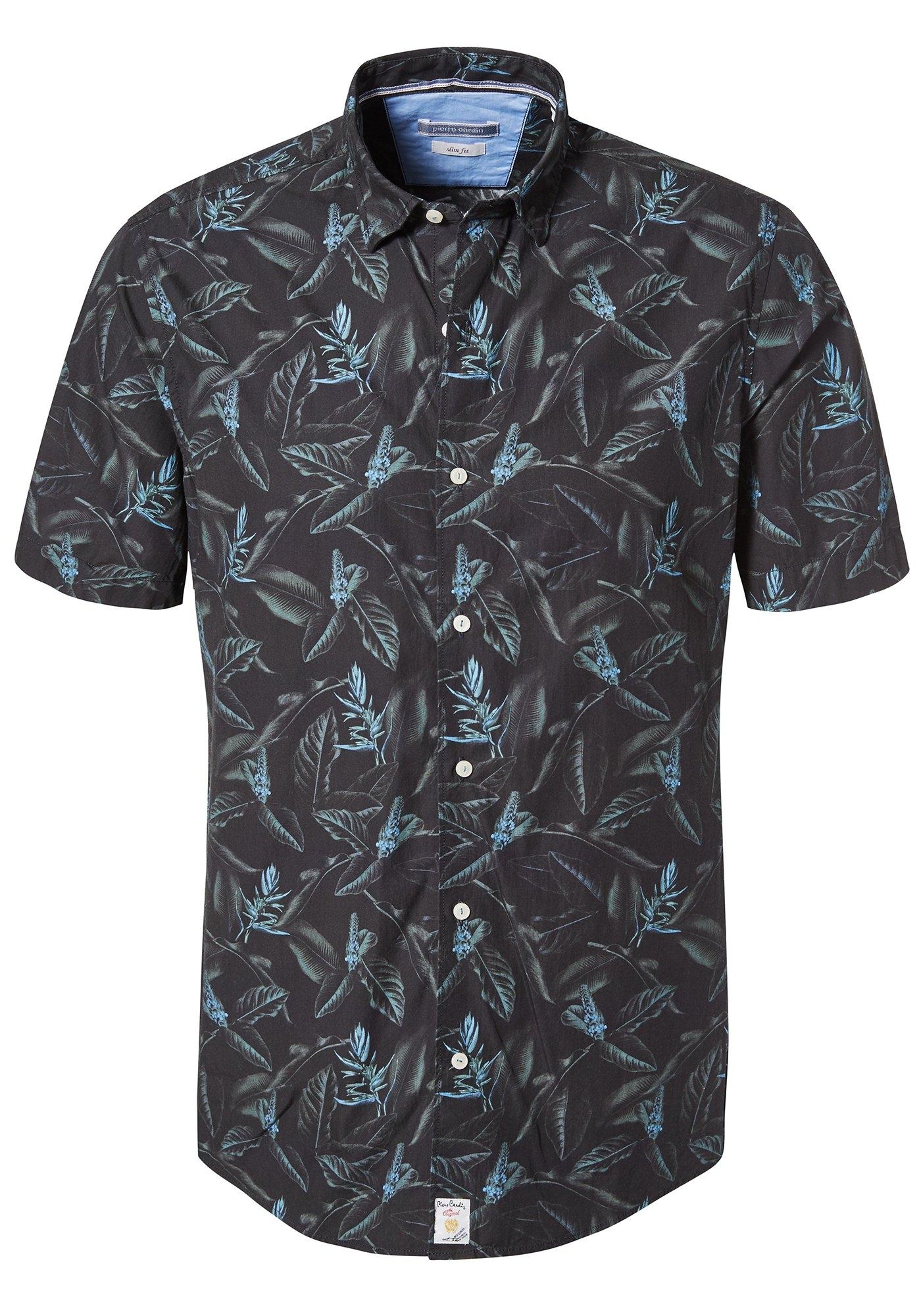 Pierre Cardin Overhemd met tropische print - modern fit nu online kopen bij OTTO