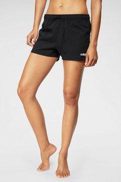 adidas functionele short »design 2 move 3 stripes shorts« zwart