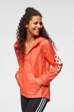 adidas windbreaker »essentials linear windbreaker« oranje