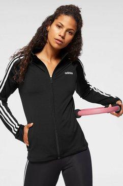 "adidas trainingsjack »design "" sport 3 stripes tt« zwart"