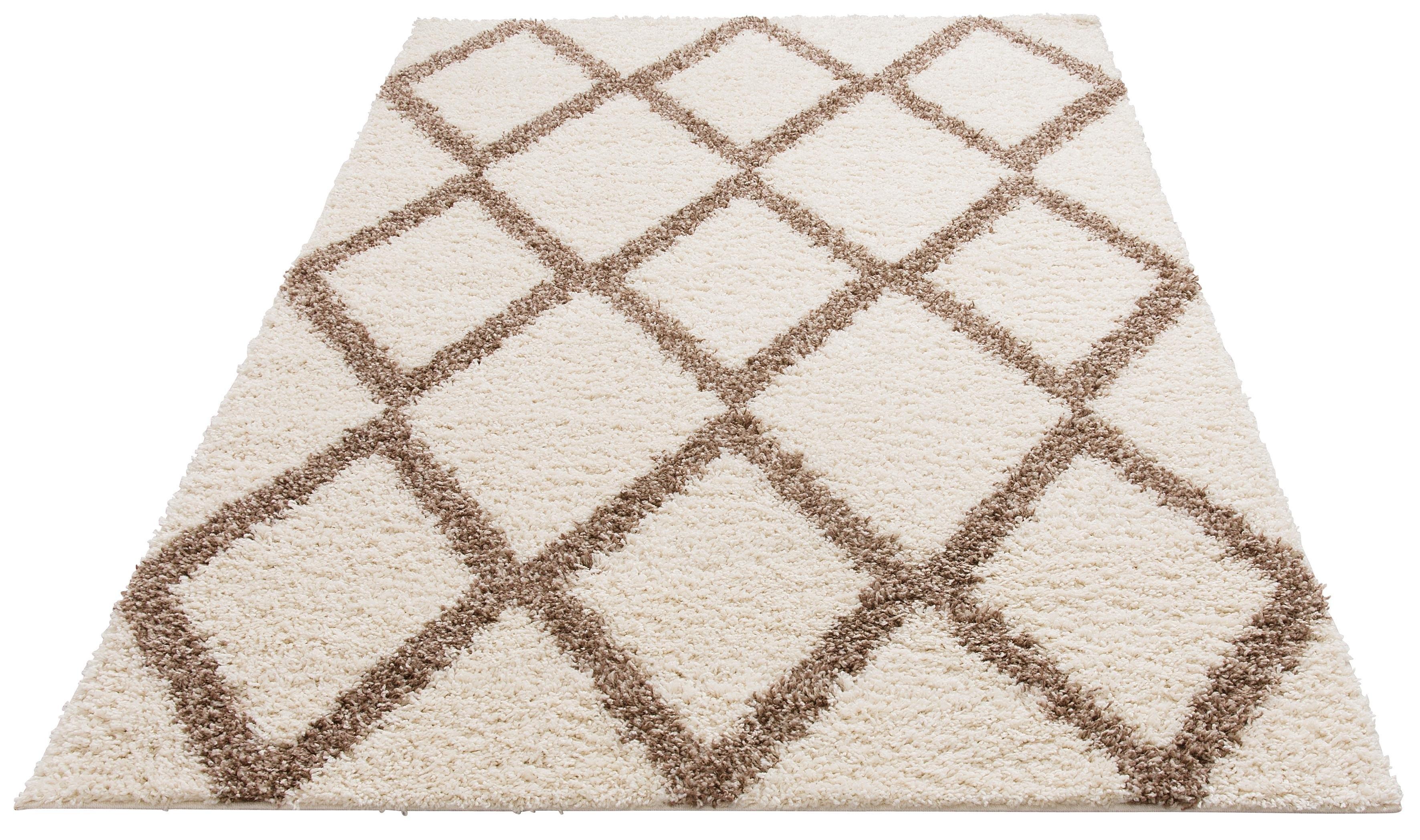 Op zoek naar een My Home Hoogpolig vloerkleed, »Linz«, rechthoekig, hoogte 31 mm, machinaal geweven? Koop online bij OTTO