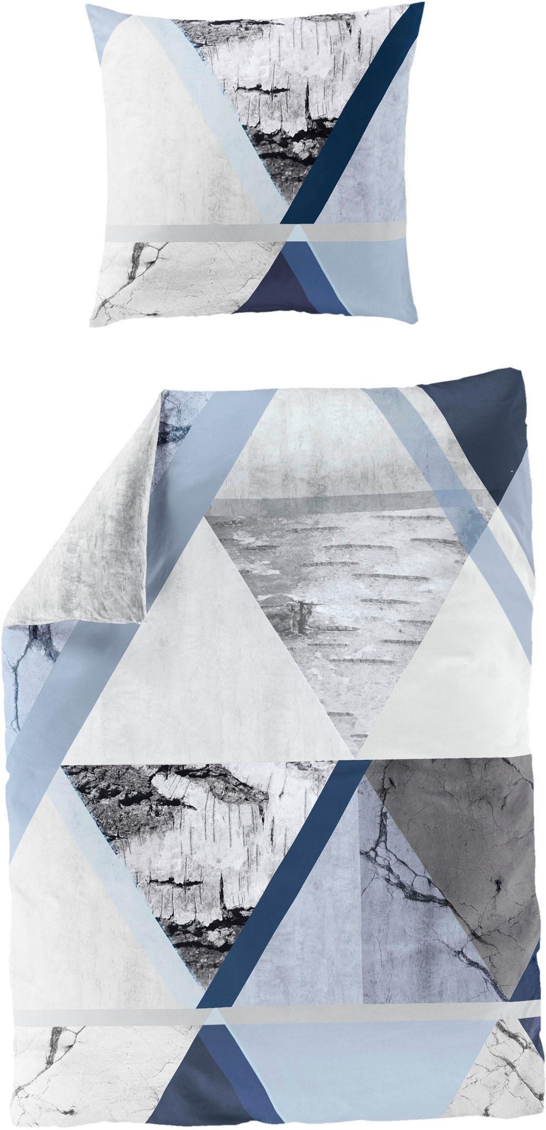 Bierbaum Tweezijdig te gebruiken overtrekset »Cold blue« in de webshop van OTTO kopen