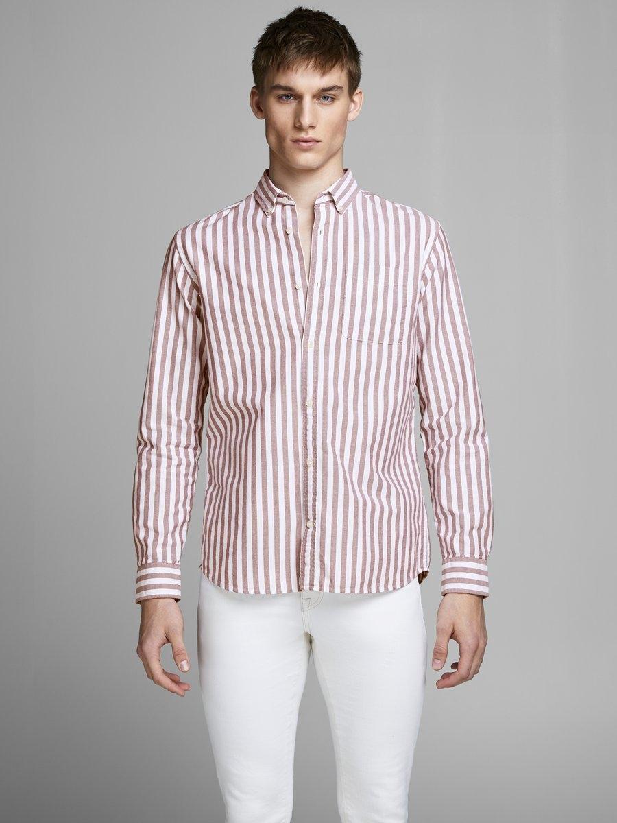 Gestreept Overhemd.Jack Jones Gestreept Overhemd Online Bij Otto