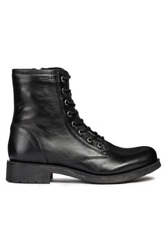 geox hoge veterschoenen »donna rawelle« zwart