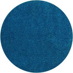 vloerkleed, »miami style«, barbara becker, rond, hoogte 23 mm, handgetuft blauw