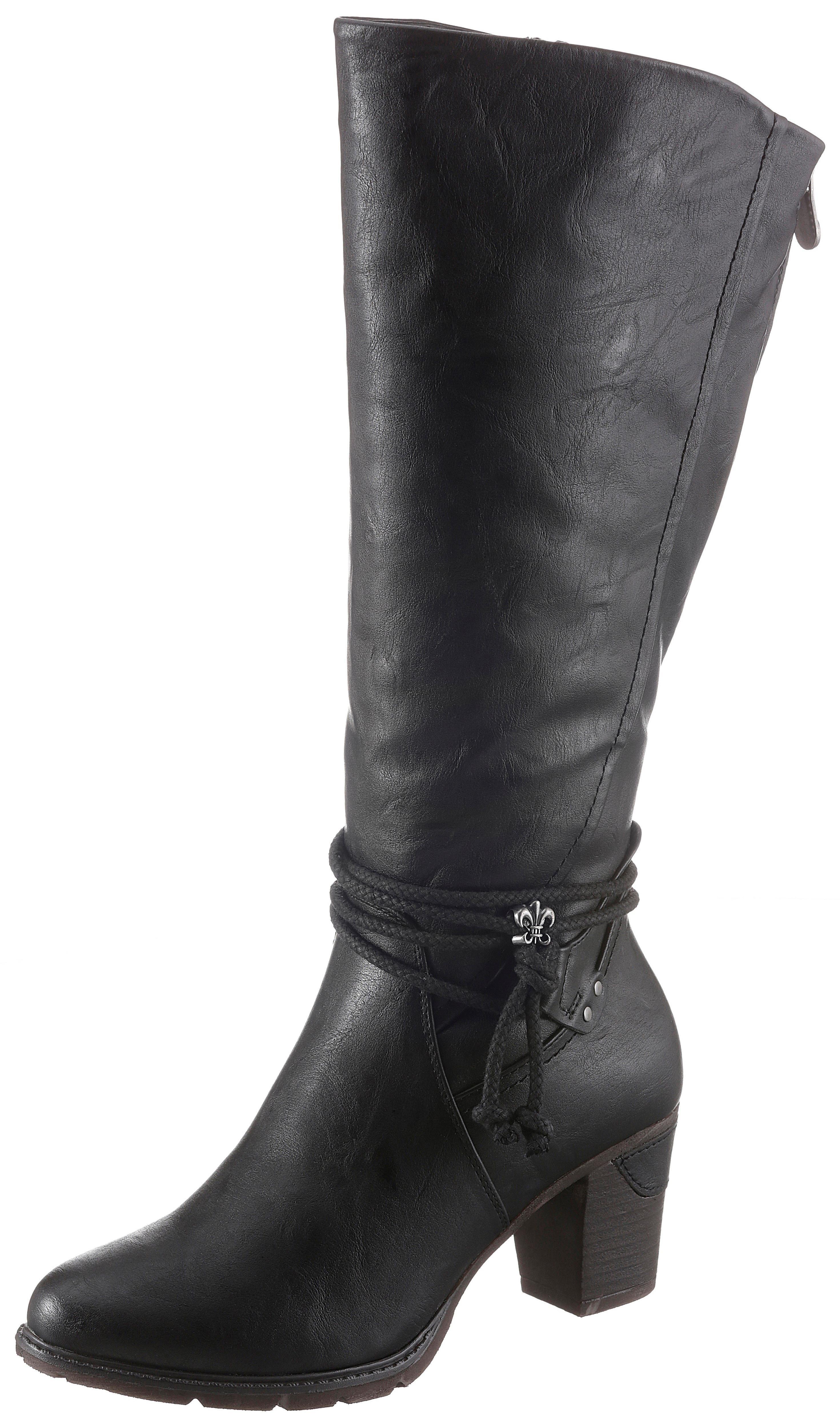 Rieker Laarzen met sierbandjes in de webshop van OTTO kopen