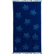 strandlaken »tartaruga«, seahorse blauw