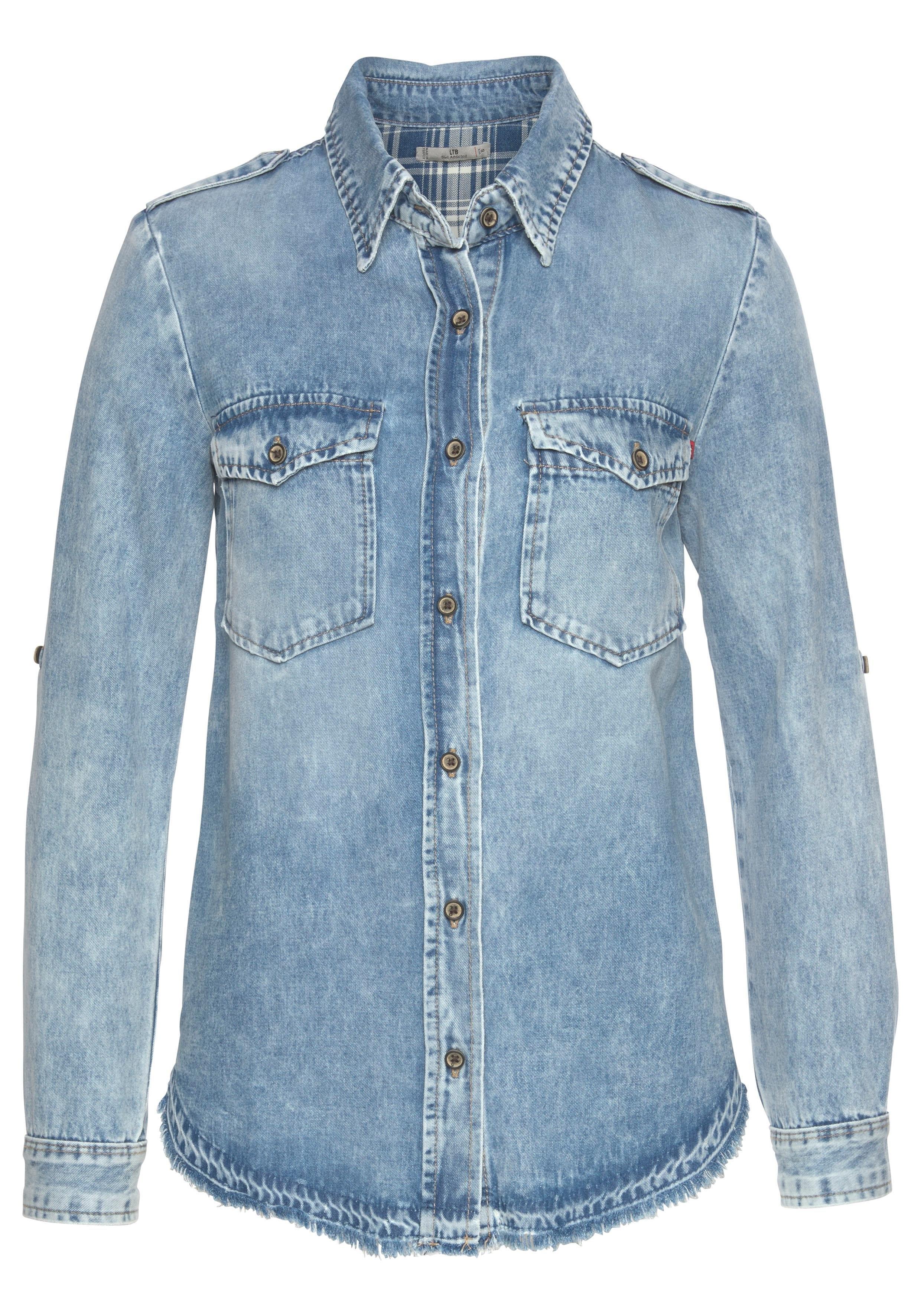 LTB jeansblouse »SIMEL« bestellen: 14 dagen bedenktijd