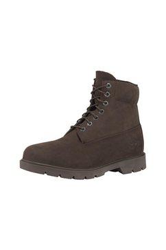 """timberland hoge veterschoenen »6"""" basic non-contrast waterproof« bruin"""