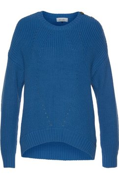 blendshe trui met ronde hals »ummi« blauw