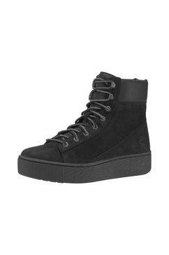 timberland plateausneakers »marblesea highttop boot« zwart