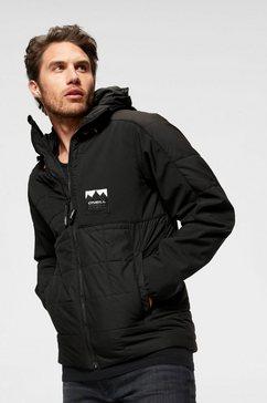 o'neill gewatteerde jas »pm maneuver quilt- mix jacket« zwart