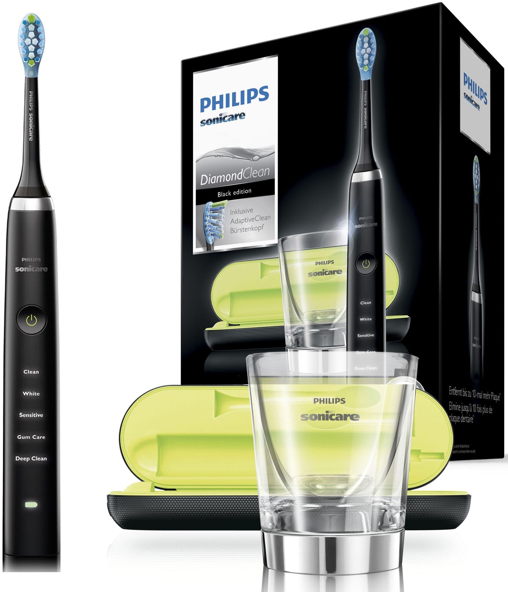 Philips Sonicare ultrasone tandenborstel HX9359/89, DiamondClean nieuwe generatie met oplaadglas bij OTTO online kopen