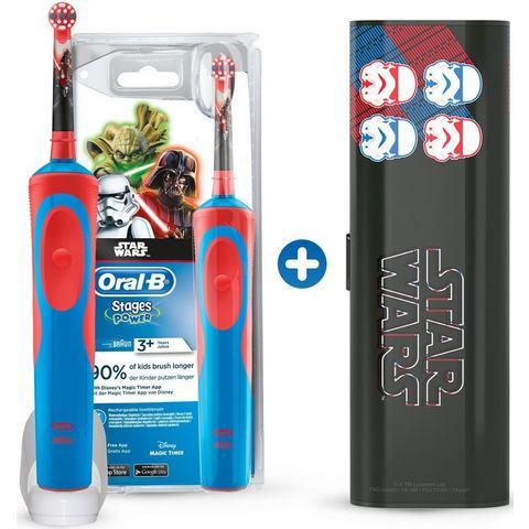 Oral B elektrische tandenborstel Stages Power Star Wars, 1 opzetborsteltje