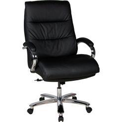 duo collection bureaustoel »federico 180 kg« zwart