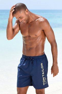 tom tailor zwemshort blauw