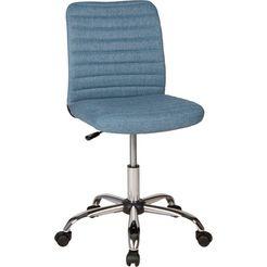 duo collection bureaustoel »milo« blauw