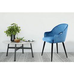 kayoom stoel joris (set van 2) blauw