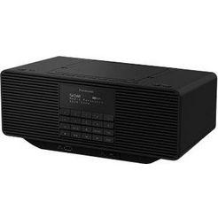 panasonic »rx-d70bteg-k« radio (digitale radio (dab+), fm-tuner) zwart