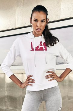 active by lascana hoodie »galaxy« wit