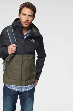 the north face functioneel jack »millerton« groen