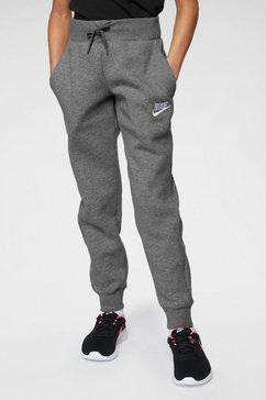 nike sportswear joggingbroek »girls nike sportswear pant« grijs