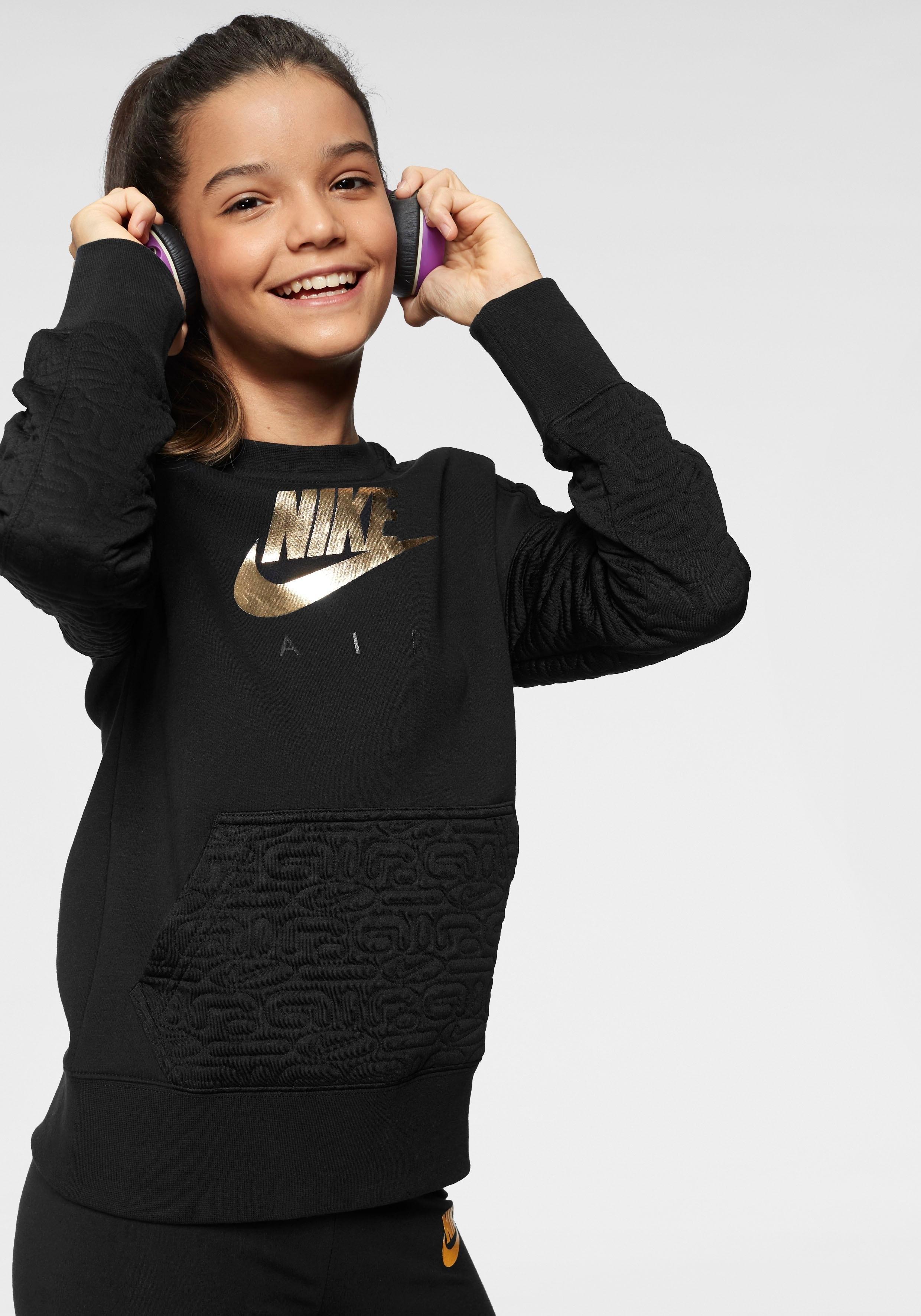 Nike Sportswear sweatshirt »GIRLS NIKE SPORTSWEAR NIKE AIR FLEECE TOP« voordelig en veilig online kopen