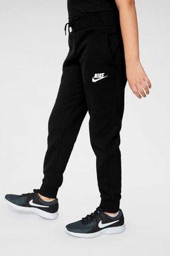 nike sportswear joggingbroek »girls nike sportswear pant« zwart