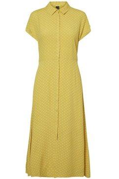 vero moda maxi-jurk »abigail« geel