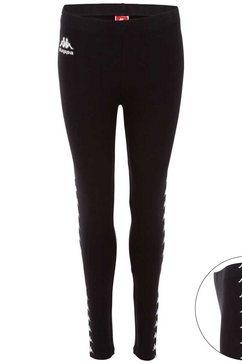 kappa legging »authentic vatma« zwart