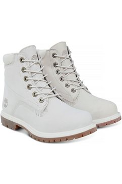timberland hoge veterschoenen »waterville 6 in double co« wit