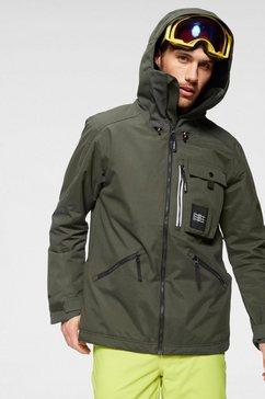 o'neill ski-jack »pm utility jacket« groen