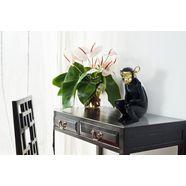 kayoom decoratief figuur »sitting monkey 300« zwart