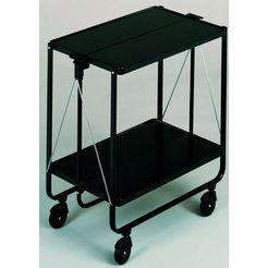 leifheit bijzetwagen side-car color hoogte 72 cm zwart