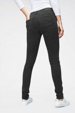 mavi skinny fit jeans »lucy« grijs