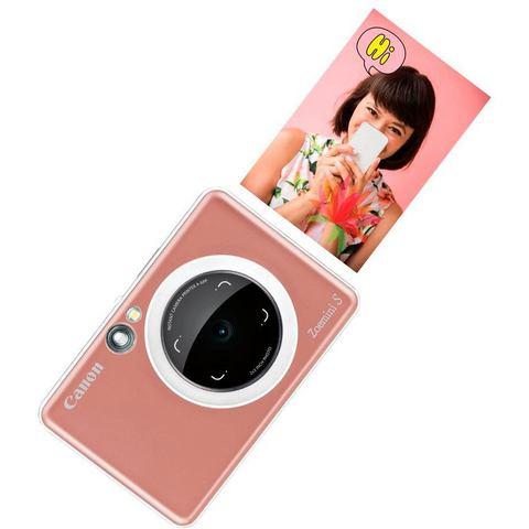 Canon Zoemini S instant camera Rose Gold