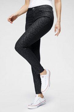 ltb skinny jeans »amy« zwart
