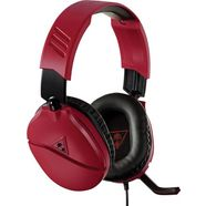 turtle beach »recon 70 k voor nintendo switch (midnight red)« gamingheadset (met snoer) rood