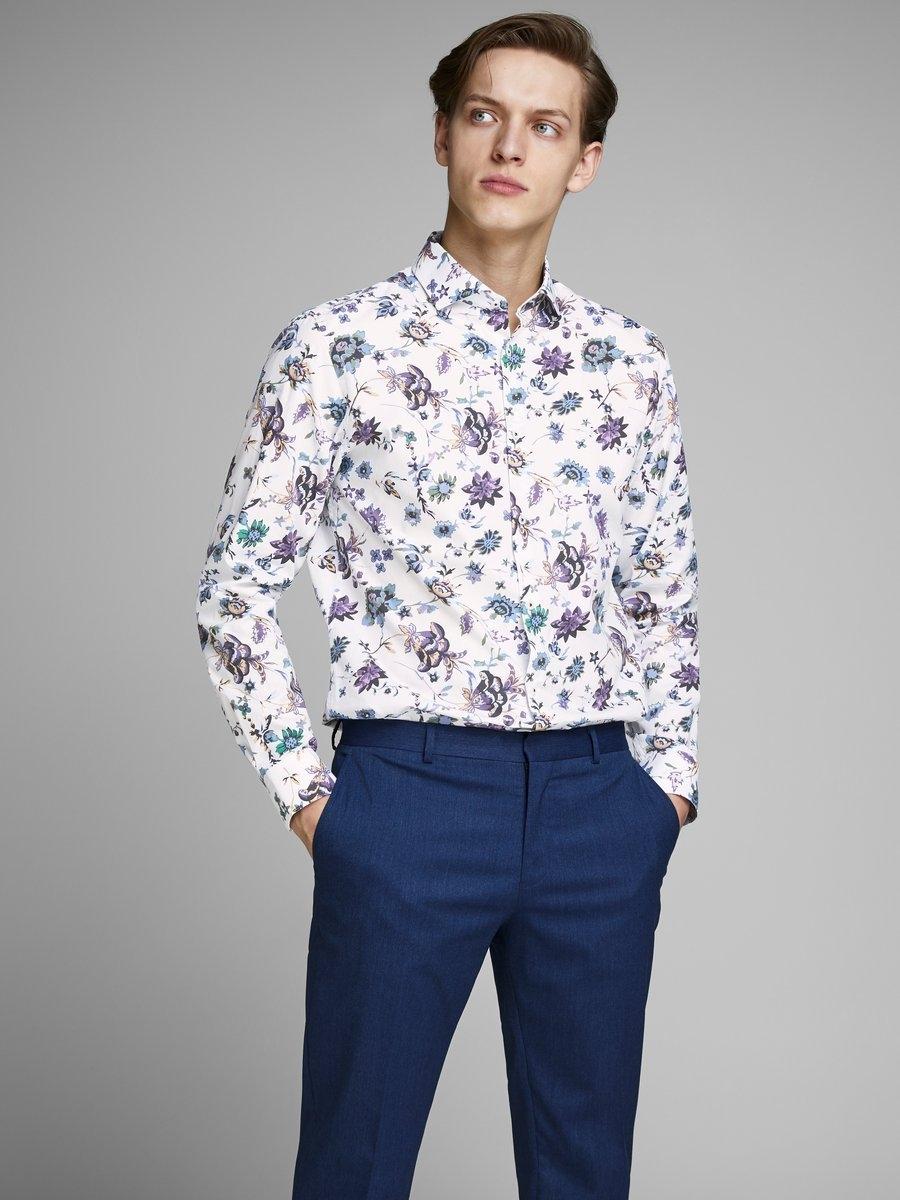 Gebloemd Overhemd.Jack Jones Gebloemd Overhemd Online Bestellen Otto