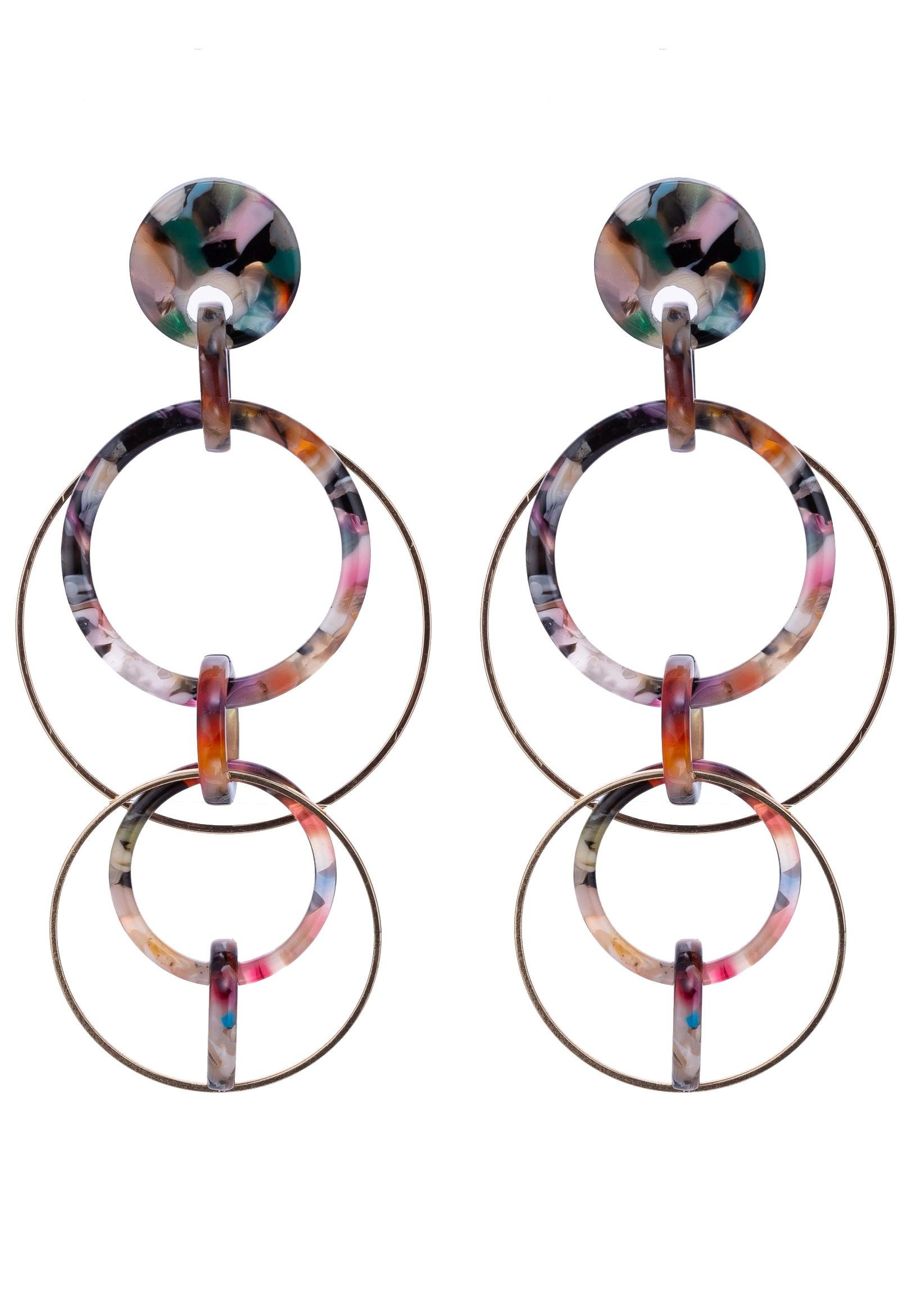 J JAYZ J.Jayz oorringen »Gekleurd, beweegbare cirkels« bij OTTO online kopen