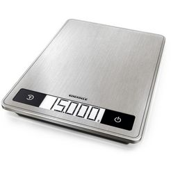 soehnle keukenweegschaal profi 200 lcd scherm zilver