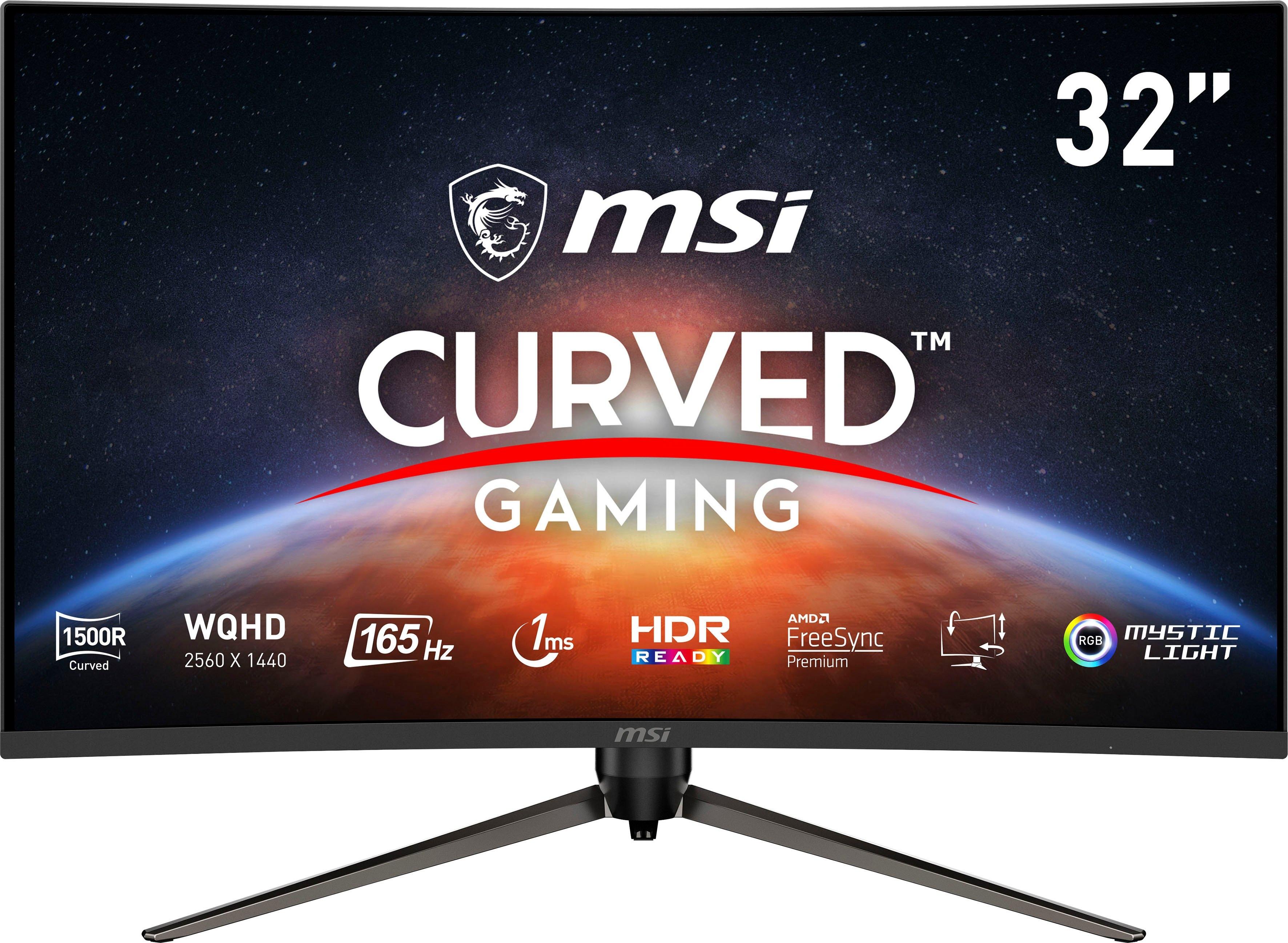 MSI curved-gaming-monitor Optix AG321CQR, 80 cm / 31,5