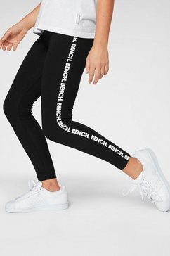 bench. legging zwart