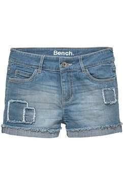 bench. jeansshort blauw
