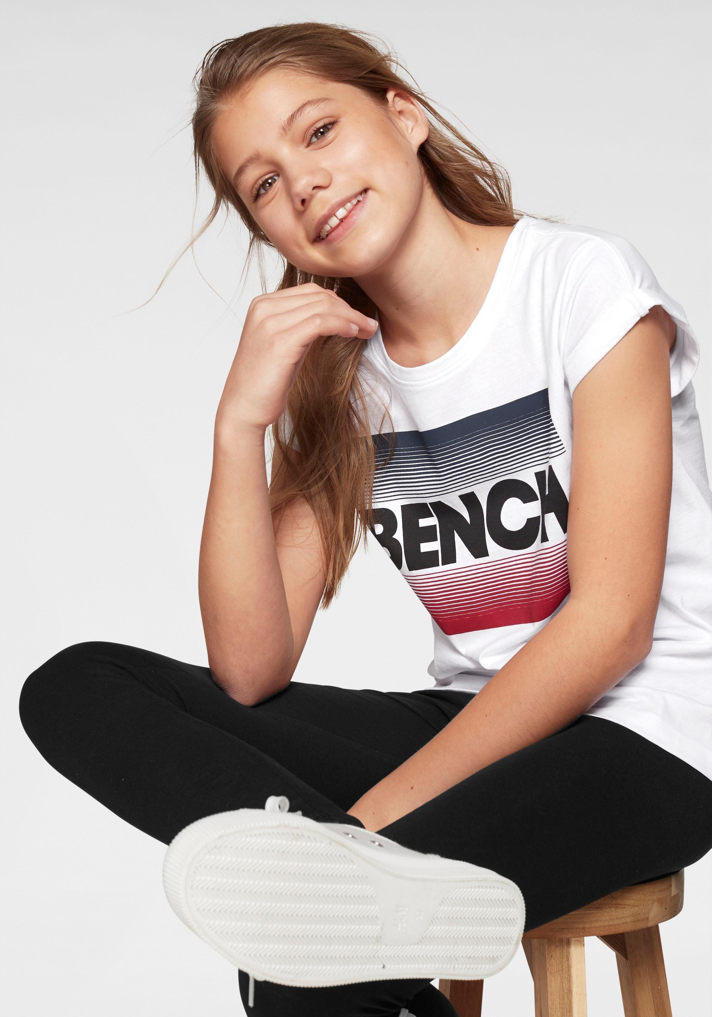 Bench. T-shirt wijd, casual model goedkoop op otto.nl kopen